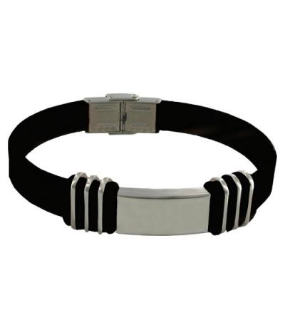 Bracelet Equilibre POWERACTION METAL Taille Unique Noir