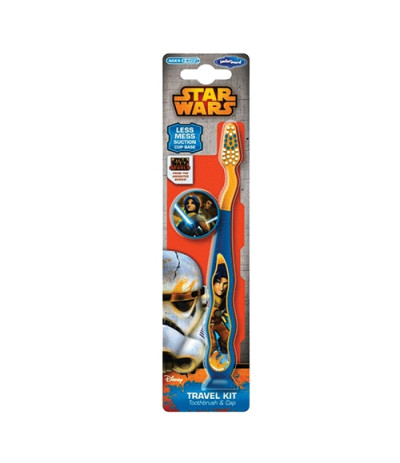 Brosse à dents Ventouse Star Wars