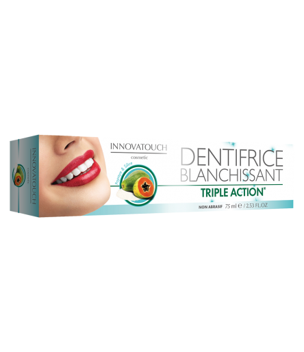 Dentifrice blanchissant 75ml Innovatouch Cosmetic