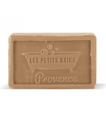 Savon de Marseille Miel/Vanille Pain 100g Les Petits Bains de Provence