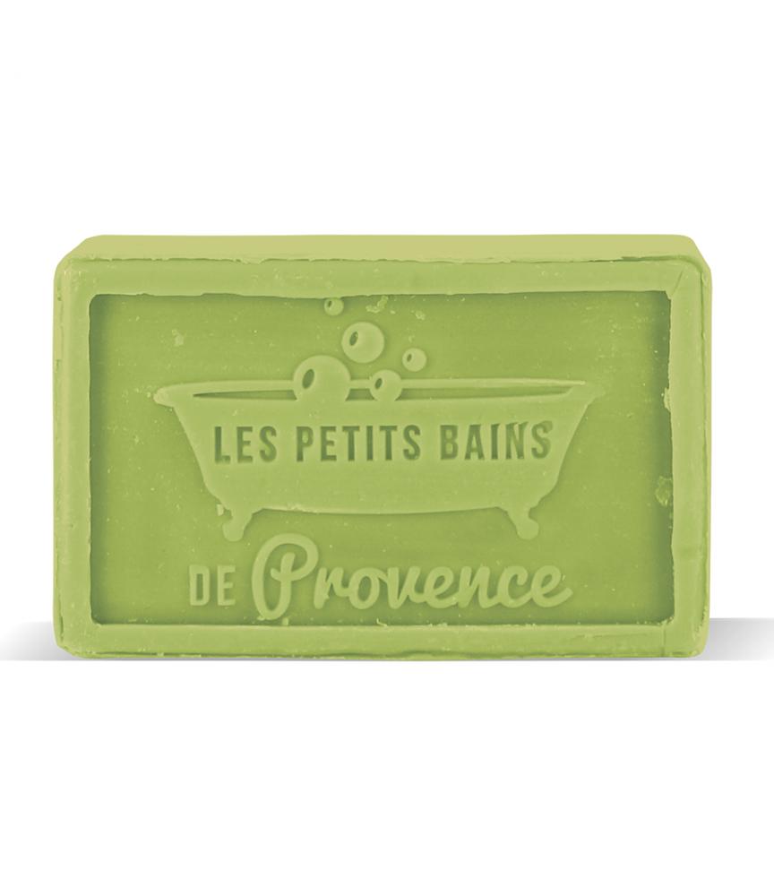 Savon de Marseille Aloé Vera Pain 100g Les Petits bains de Provence