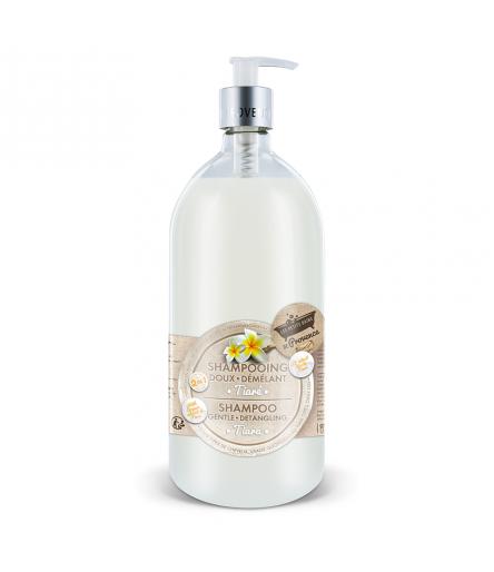 Shampooing Tiaré 1L Les Petits Bains de Provence
