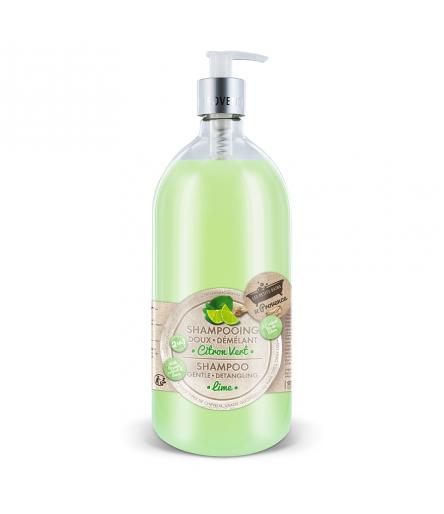 Shampooing Citron vert 1L Les Petits Bains de Provence