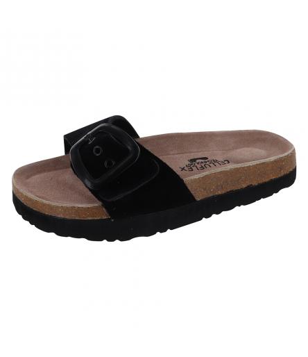 Sandale Silhouette Confort Atlas Noir
