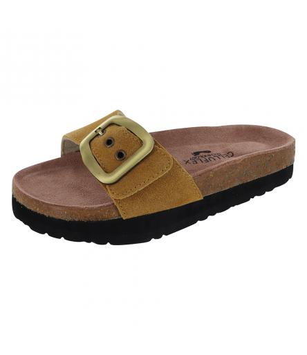 Sandale Silhouette Confort Atlas Moutarde