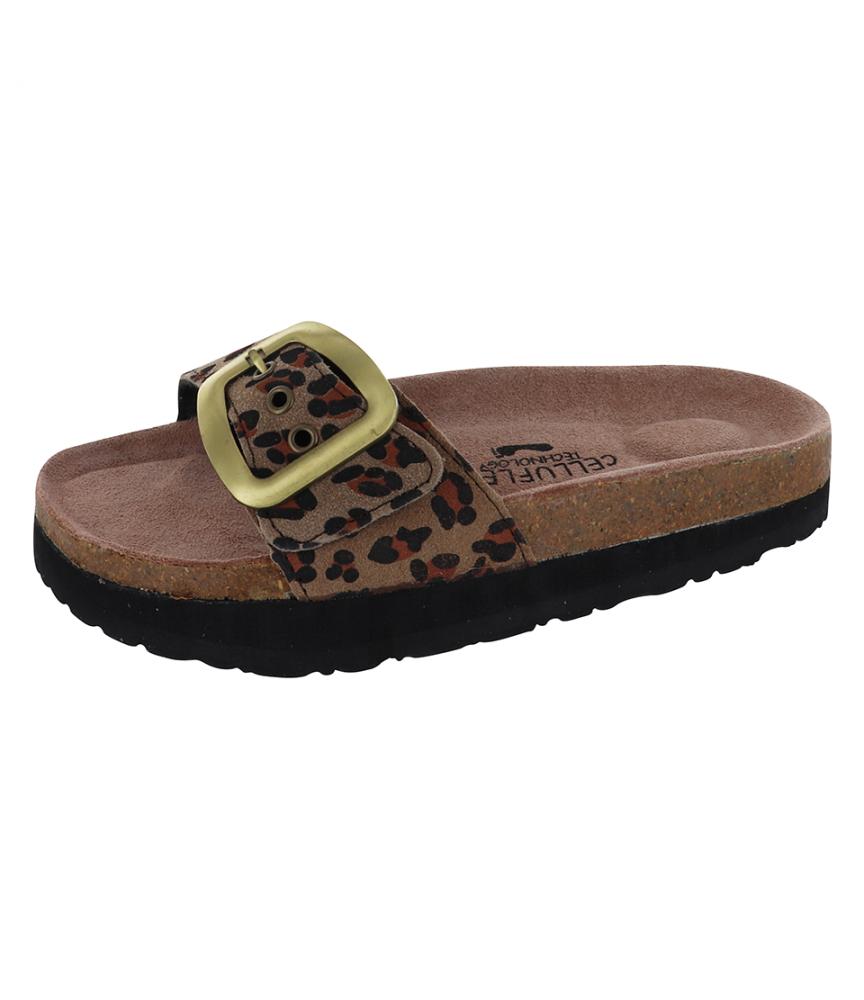 Sandale Silhouette Confort Atlas Leopard