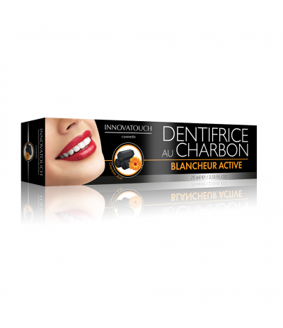 Dentifrice au Charbon 75ml Innovatouch Cosmetic