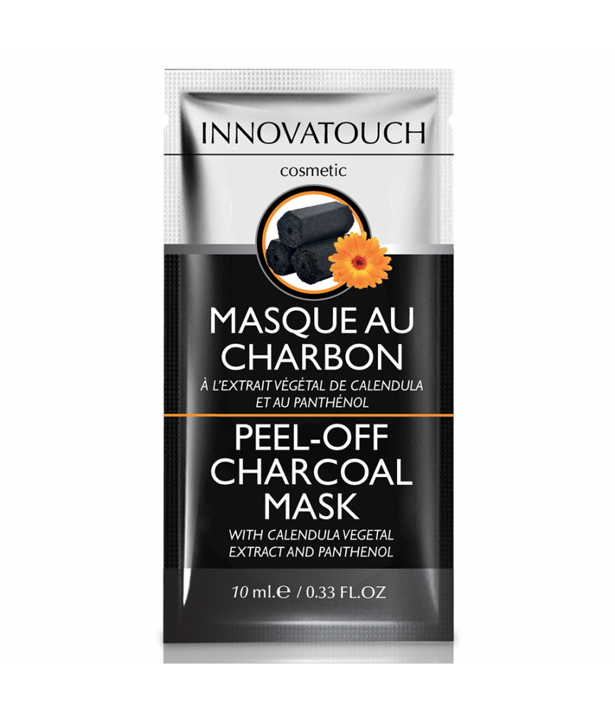 Masque Peel Off au Charbon 10 ml Innovatouch Cosmetic