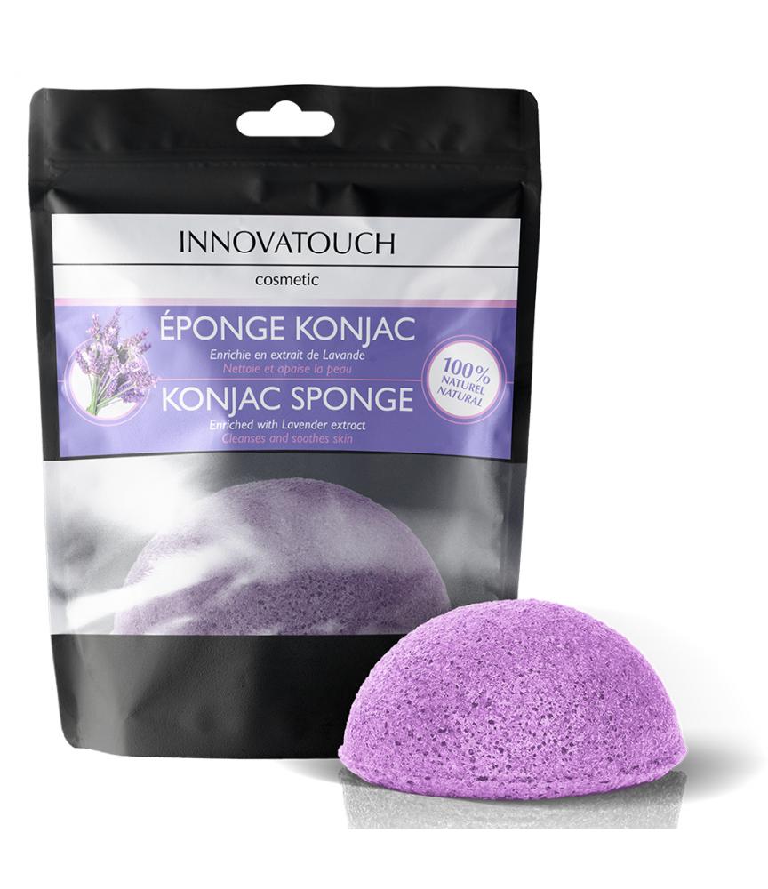 Eponge Konjac enrichie en extrait de Lavande Innovatouch Cosmetic