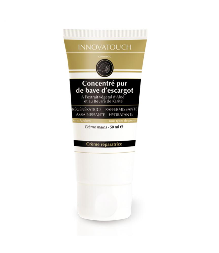 Crème mains au concentré pur de bave d'escargot Innovatouch Cosmetic