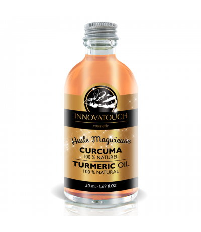 Huile Magicieuse  de Curcuma 50 ml Innovatouch Cosmetic
