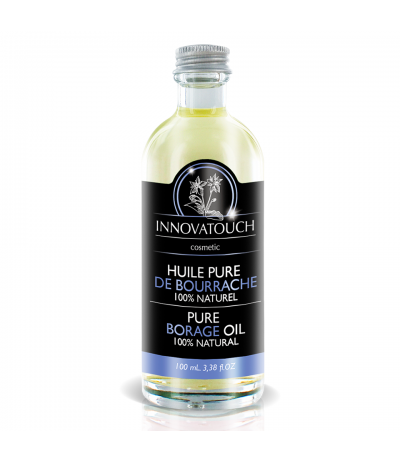 Huile pure de Bourrache 100ml Innovatouch Cosmetic