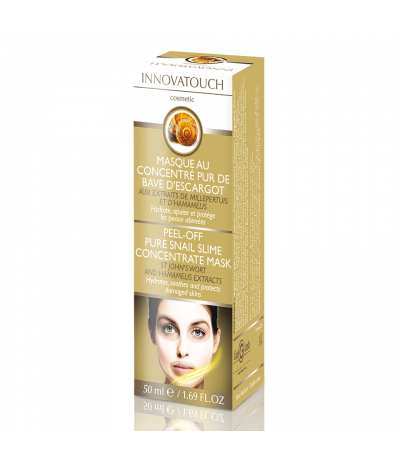 Masque Peel Off au concentré pur de bave d'escargot 50ml Innovatouch Cosmetic