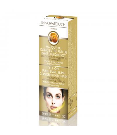 Masque Peel Off au concentré pur de bave d'escargot 50ml Innovatouch Cosmetic