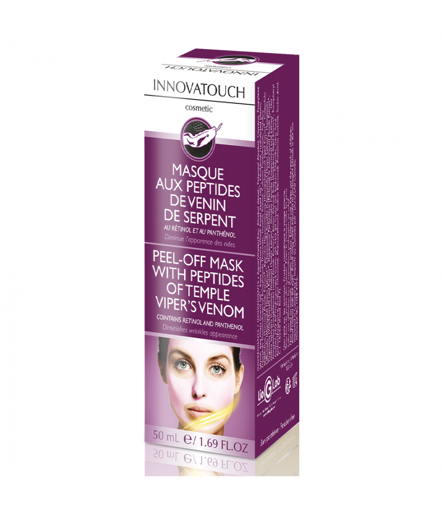 Masque Peel Off aux Peptides de Venin de Serpent 50 ml Innovatouch Cosmetic