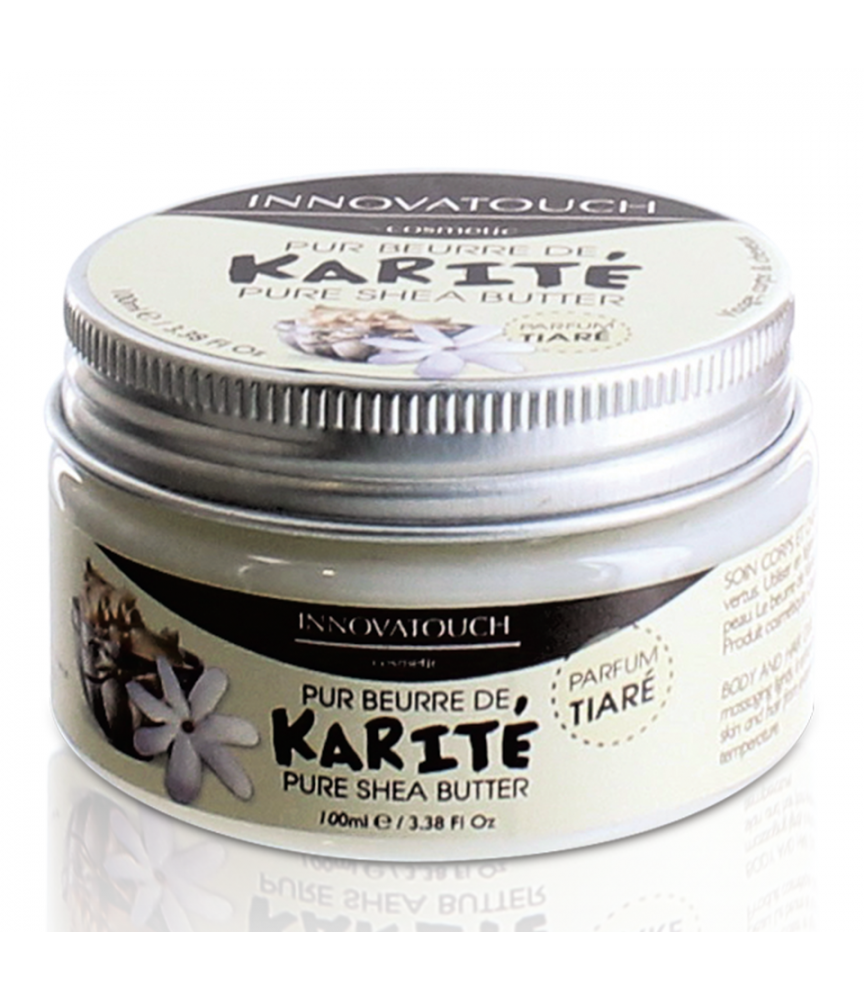 Pur beurre de Karité Parfum Tiaré 100ml Innovatouch Cosmetic