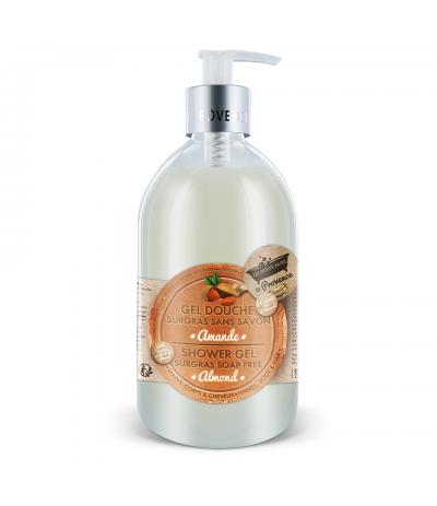 Gel douche 500 ml Amande Les Petits bains de Provence