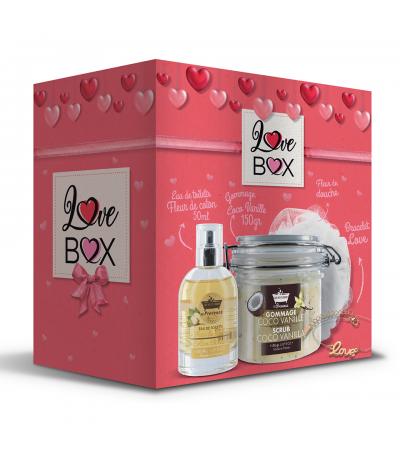 Love Box Fleur de Coton Les Petits Bains de Provence