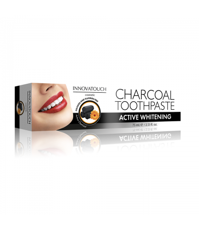 Dentifrice au Charbon sans fluor 75ml Innovatouch Cosmetic