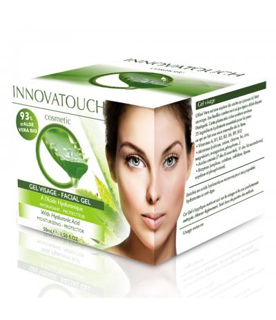Gel visage Aloe Véra 50ml Innovatouch Cosmetic