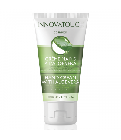 Crème mains Aloe Véra 50ml Innovatouch Cosmetic