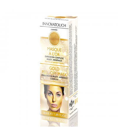 Masque Peel Off à l'or 50ml Innovatouch Cosmetic