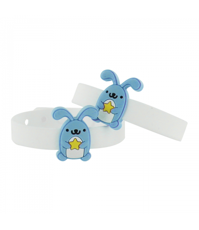 Bracelets cartoon citronnelle Lapin Biostop