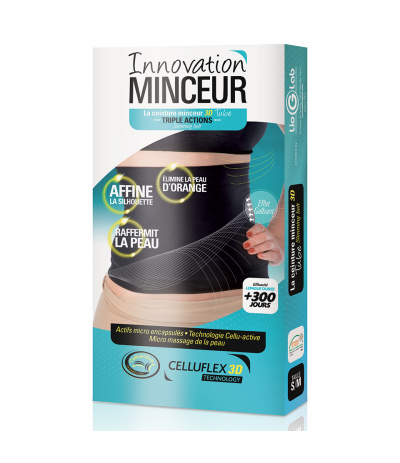 Ceinture Tube Minceur 3D Triple Actions Celluflex Technology