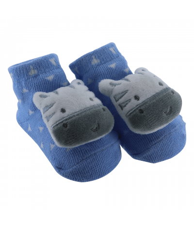 Chaussettes Bébé 0-9 mois Zèbre Lapin BabyOops