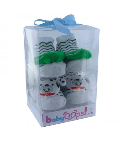 Chaussettes Bébé 0-9 mois Crocodile Chien BabyOops
