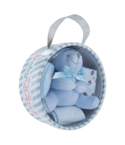 Kit Ourson 0-6 mois Bleu BabyOops