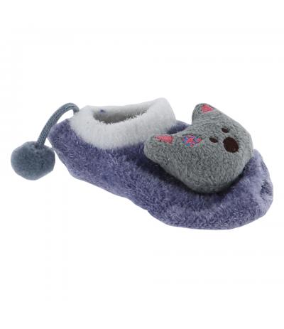 Socquettes d'intérieur 0-12 mois Ourson BabyOops