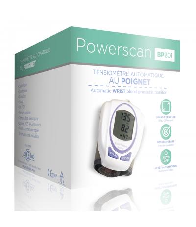 Tensiomètre automatique au poignet BP201 Powerscan