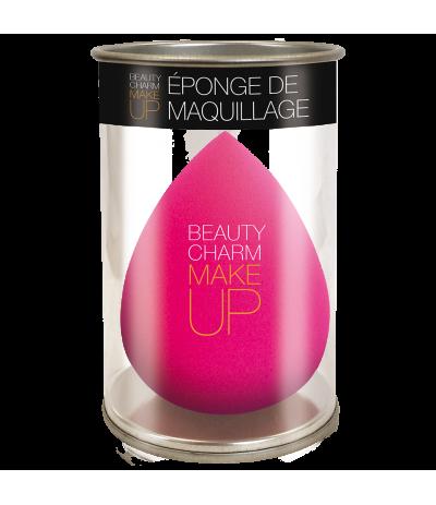 Eponge de Maquillage Rose Beauty Charm Make Up