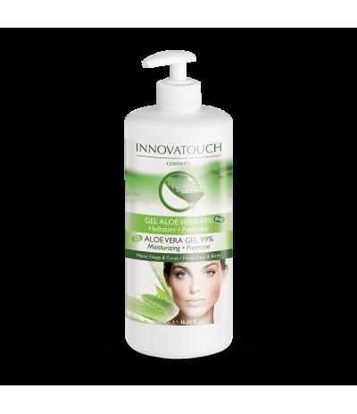 Gel 99% Aloe Vera Bio 500 ml Innovatouch Cosmetic