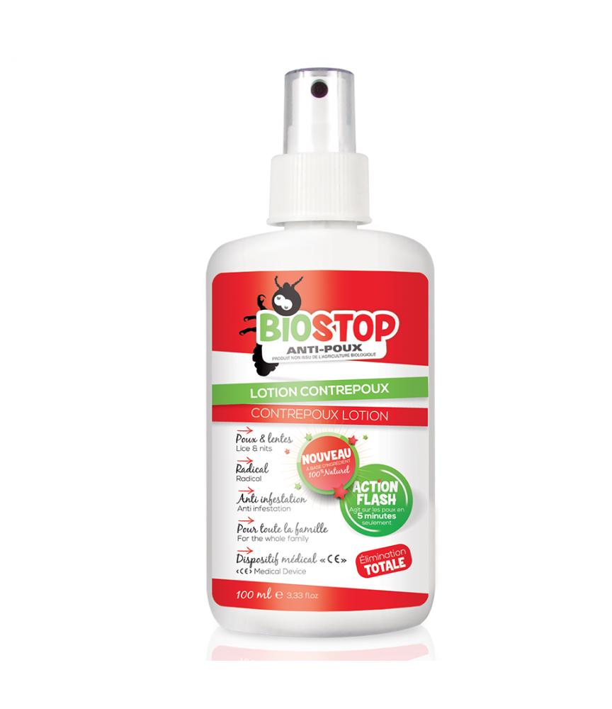 Lotion contre poux Biostop