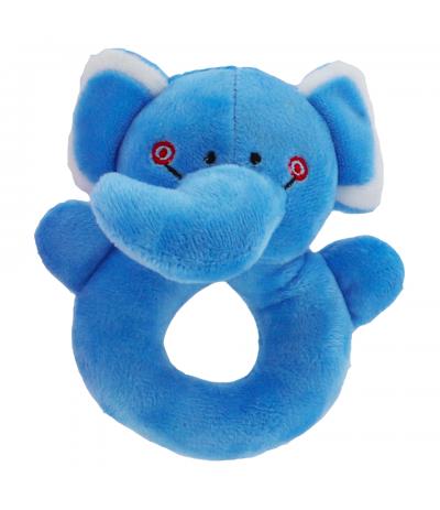 Kit Hochet Eléphant bleu BabyOops