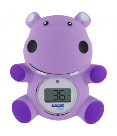 Thermomètre de bain Hippo Anycare