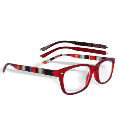 Lunettes loupes Switch Rouge Steele'