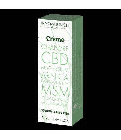 Crème Confort et Bien-être CBD 50ml Innovatouch Cosmetic