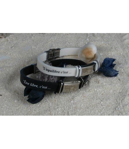 Bracelet Powerscan Ekilibre avec Message
