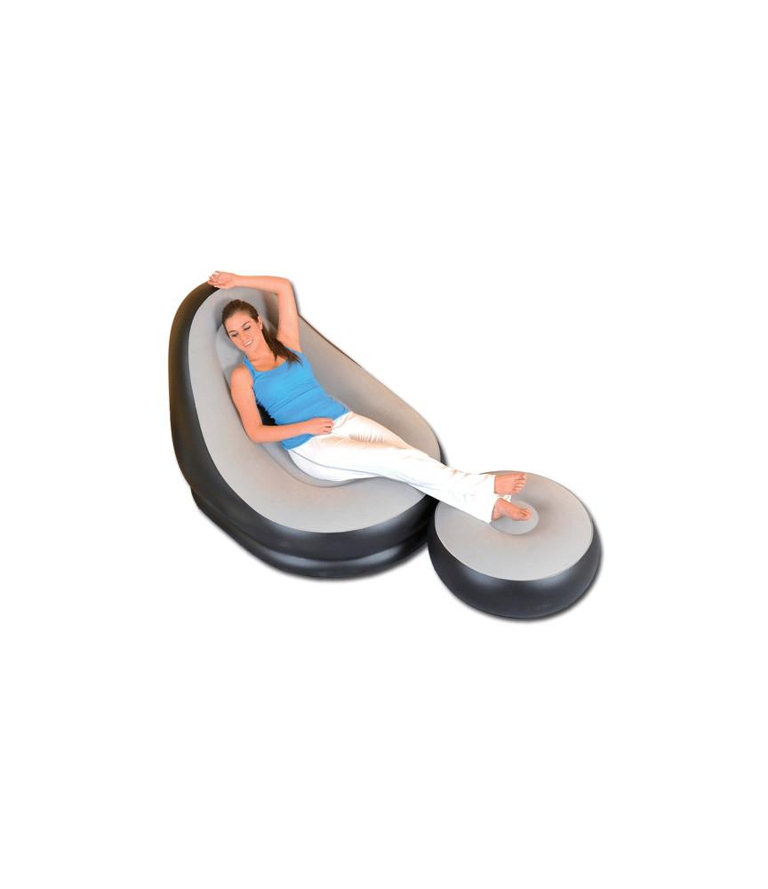 fauteuil gonflable modèle deluxe lounge