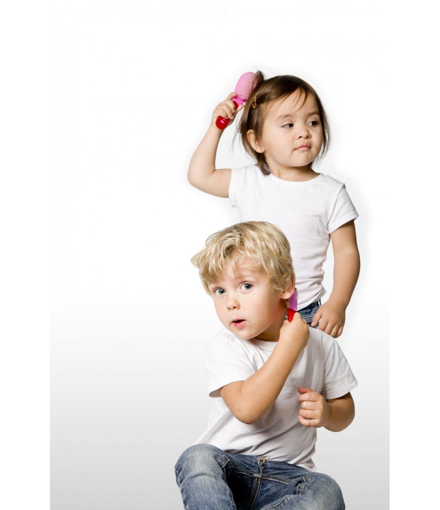Difrax - Kit brosse et peigne pour bébé - Ref 8012