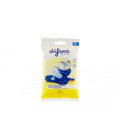 Difrax - Pack de 25 lingettes Sucette - Ref 459