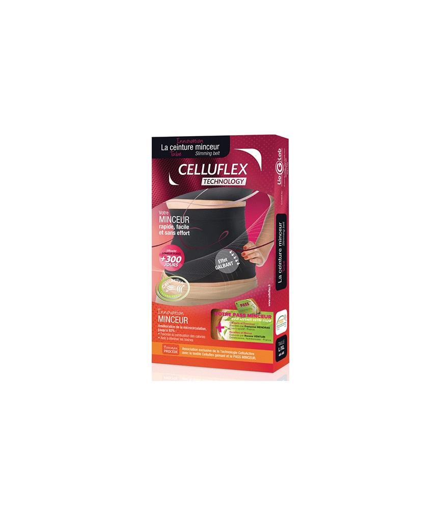 Ceinture Tube Minceur Noir CELLUFLEX Technology